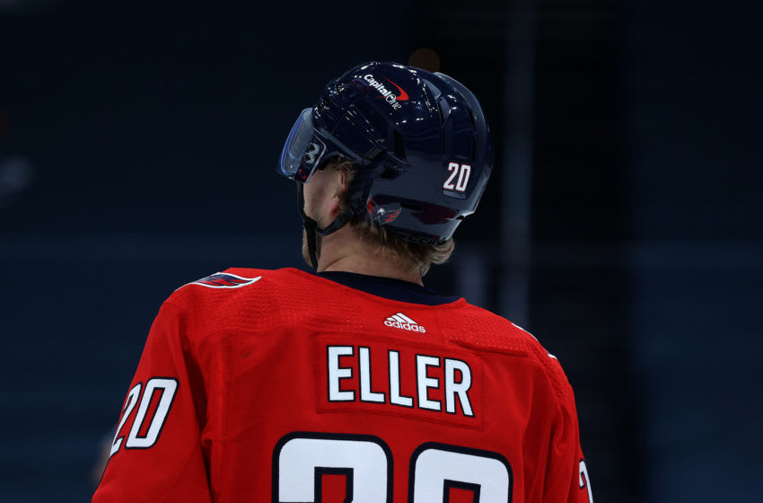 Lars Eller, Washington Capitals (Photo by Rob Carr/Getty Images)
