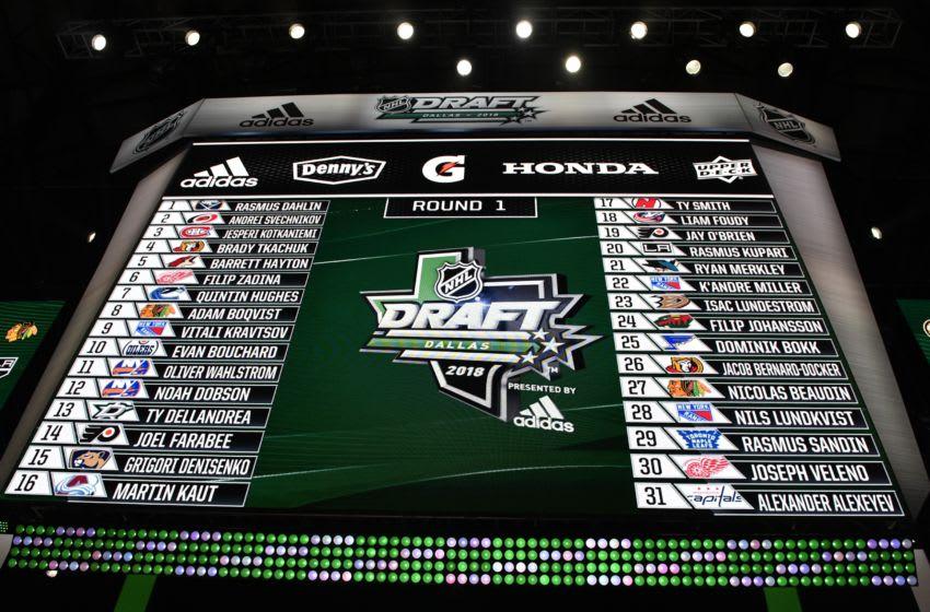 NHL Draft Mandatory Credit: Jerome Miron-USA TODAY Sports