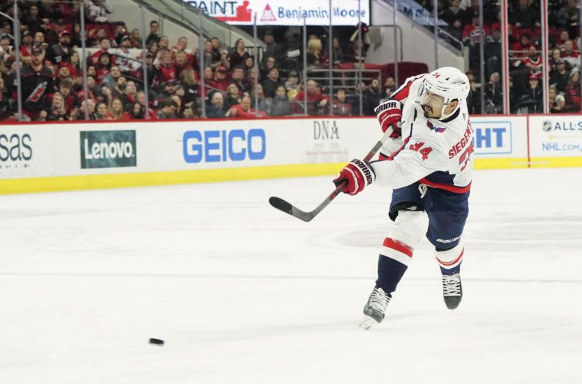 Jonas Siegenthaler, Washington Capitals Mandatory Credit: James Guillory-USA TODAY Sports
