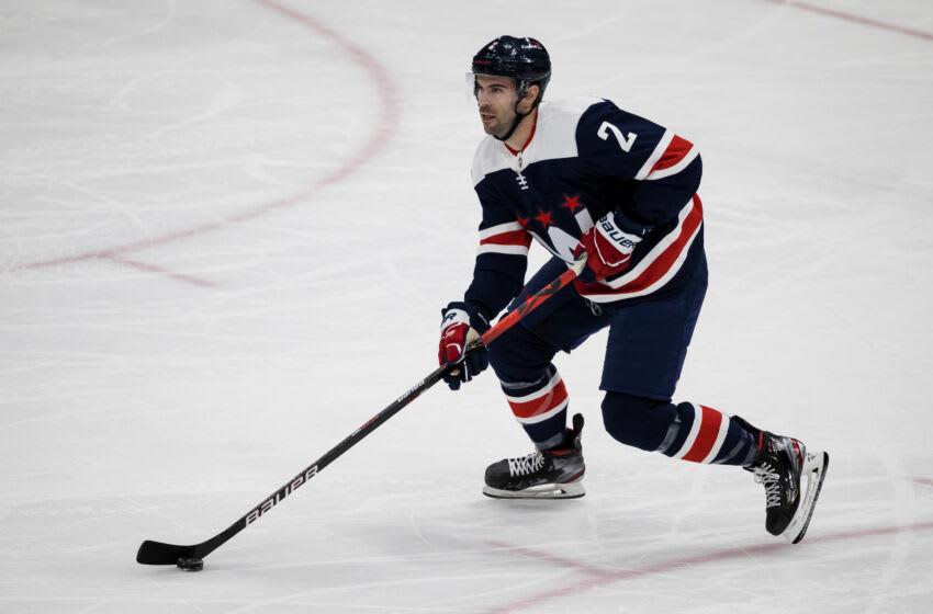Justin Schultz, Washington Capitals Mandatory Credit: Scott Taetsch-USA TODAY Sports