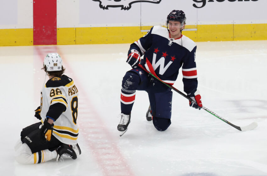Jakub Vrana, Washington Capitals Mandatory Credit: Geoff Burke-USA TODAY Sports