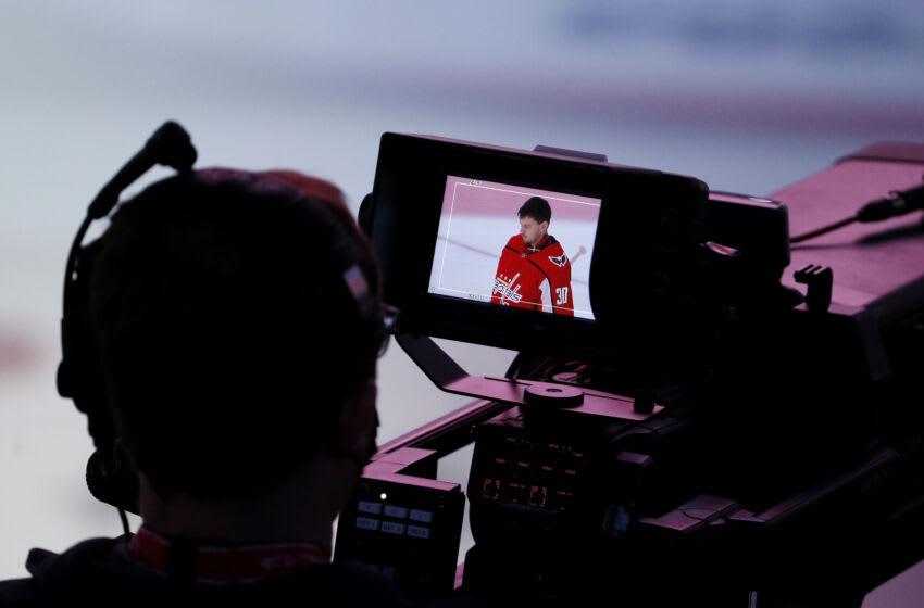 Ilya Samsonov, Washington Capitals Mandatory Credit: Amber Searls-USA TODAY Sports