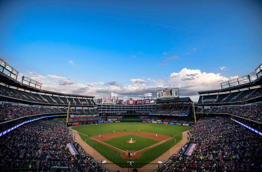 Sep 16, 2016; Arlington, TX, USA; A general view of the ballpark during the game between the Texas Rangers and the Oakland Athletics at Globe Life Park in Arlington. Mandatory Credit: Jerome Miron-USA TODAY Sports