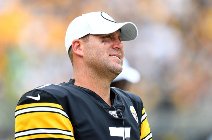 Ben Roethlisberger #7 of the Pittsburgh Steelers (Photo by Joe Sargent/Getty Images)