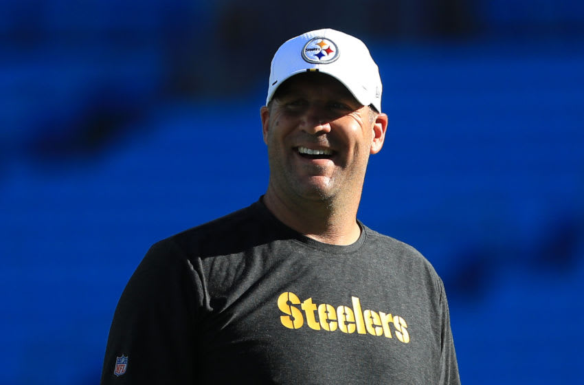 Ben Roethlisberger #7 of the Pittsburgh Steelers (Photo by Streeter Lecka/Getty Images)