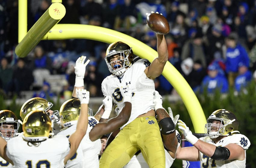 Chase Claypool Notre Dame (Photo by Grant Halverson/Getty Images)
