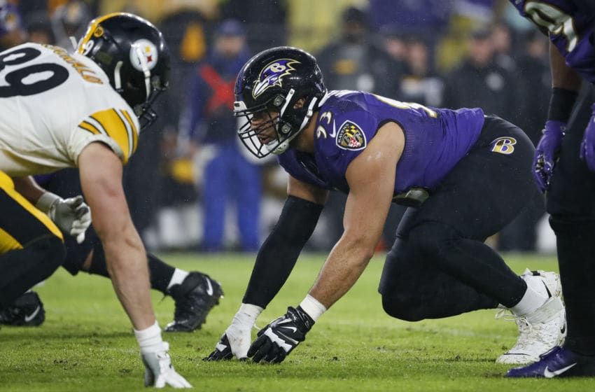 Chris Wormley #93 of the Baltimore Ravens (Photo by Scott Taetsch/Getty Images)
