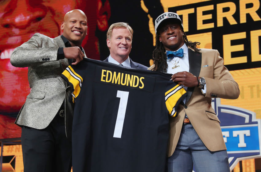 Terrell Edmunds Pittsburgh Steelers (Photo by Tom Pennington/Getty Images)