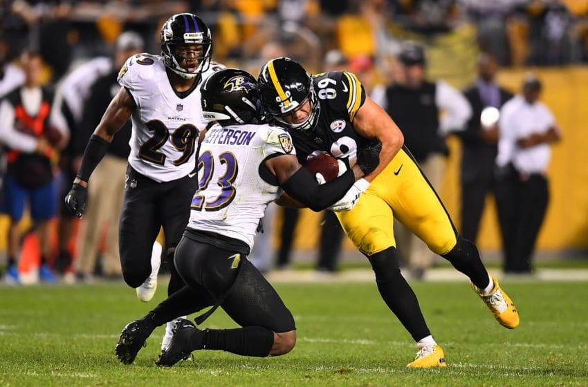 Vance McDonald Pittsburgh Steelers (Photo by Joe Sargent/Getty Images)