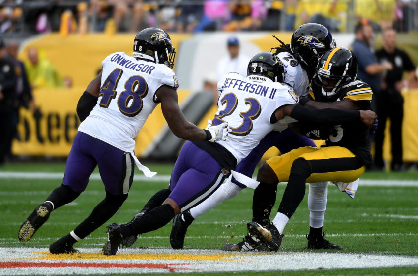 Tony Jefferson #23 of the Baltimore Ravens (Photo by Justin Berl/Getty Images)
