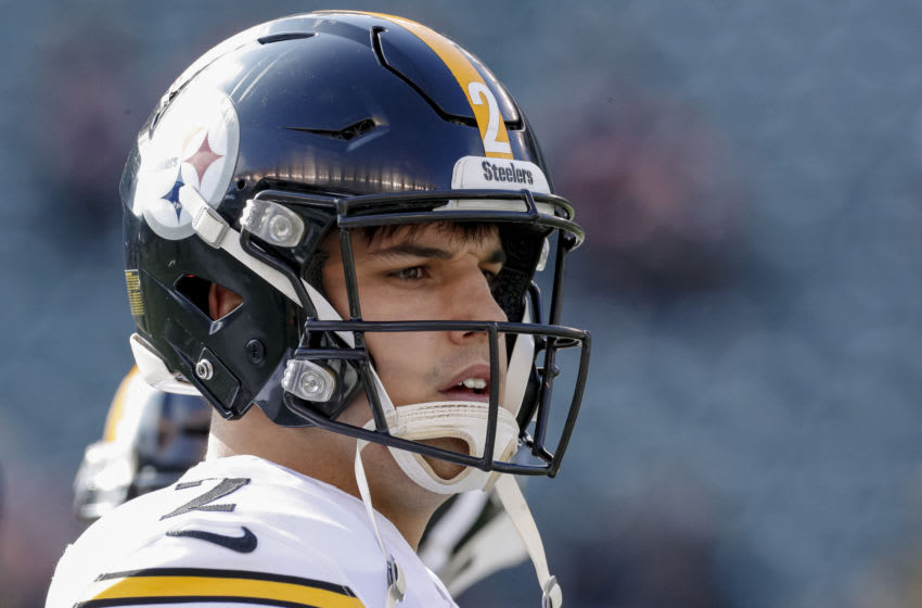 Mason Rudolph #2 of the Pittsburgh Steelers. (Photo by Michael Hickey/Getty Images)