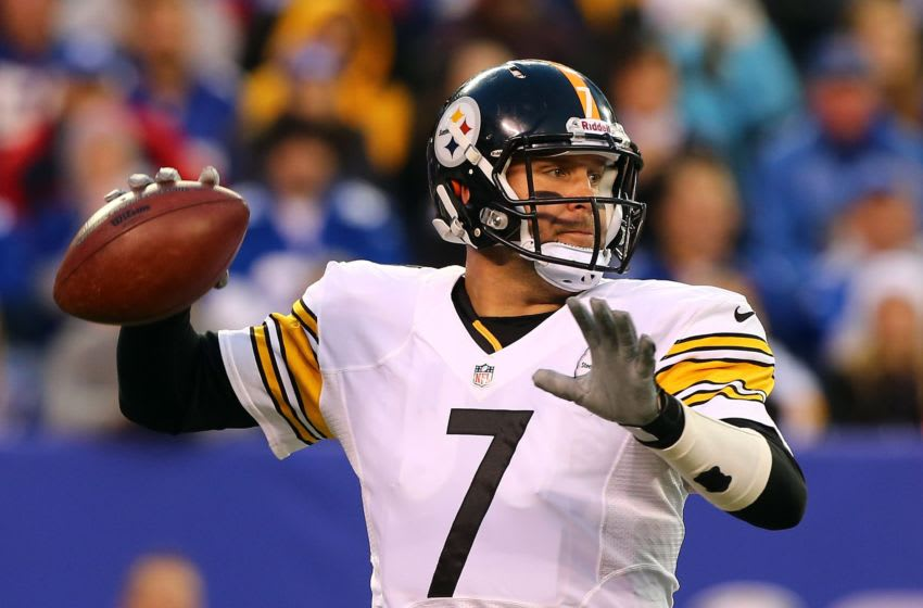 Ben Roethlisberger #7 of the Pittsburgh Steelers (Photo by Jim McIsaac/Getty Images)