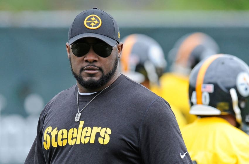Mike Tomlin of the Pittsburgh Steelers (Photo by Joe Sargent/Getty Images)