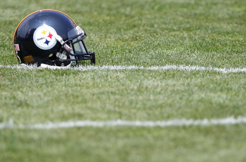 Pittsburgh Steelers helmet (Photo by Jared Wickerham/Getty Images)