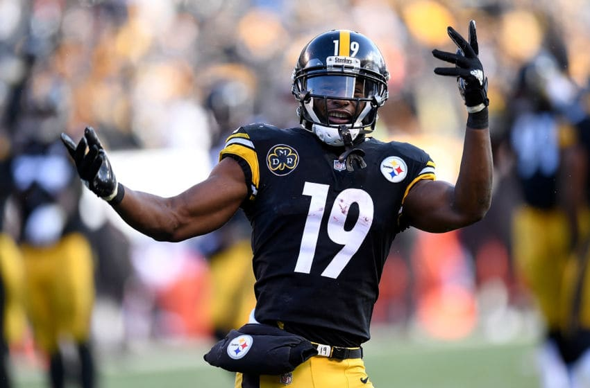 PITTSBURGH, PA - DECEMBER 31: JuJu Smith-Schuster