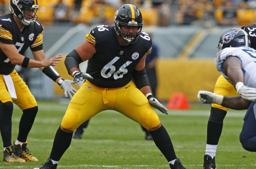 David DeCastro #66 of the Pittsburgh Steelers (Photo by Justin K. Aller/Getty Images)