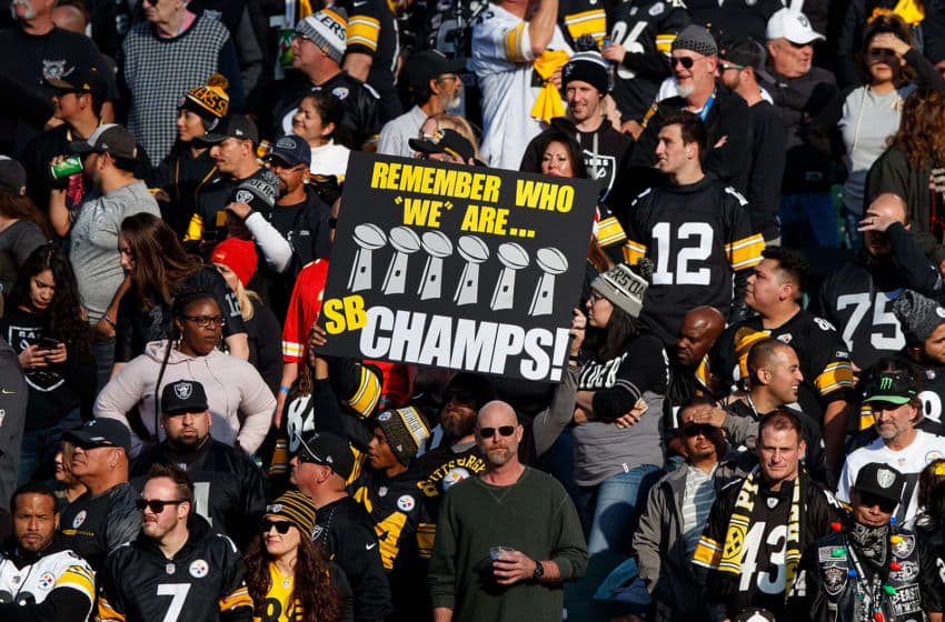 Pittsburgh Steelers fans (Photo by Jason O. Watson/Getty Images)