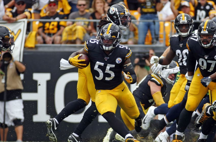 Devin Bush #55 of the Pittsburgh Steelers (Photo by Justin K. Aller/Getty Images)