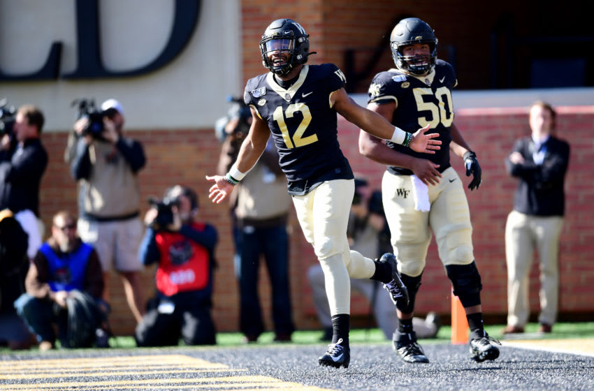 Jamie Newman Wake Forest (Photo by Jacob Kupferman/Getty Images)
