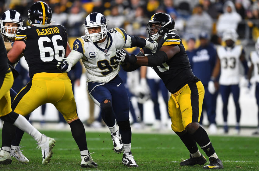 Aaron Donald Pittsburgh Steelers (Photo by Joe Sargent/Getty Images)
