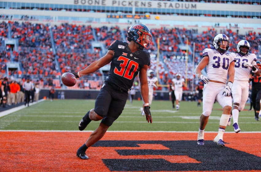 Chuba Hubbard Oklahoma State Cowboys (Photo by Brian Bahr/Getty Images)