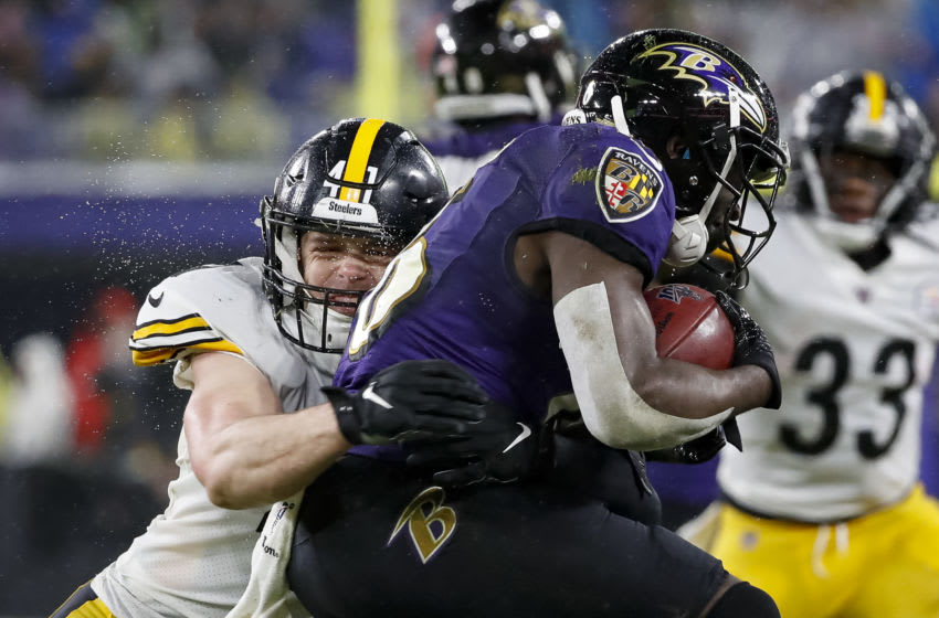 Robert Spillane #41 Pittsburgh Steelers (Photo by Scott Taetsch/Getty Images)