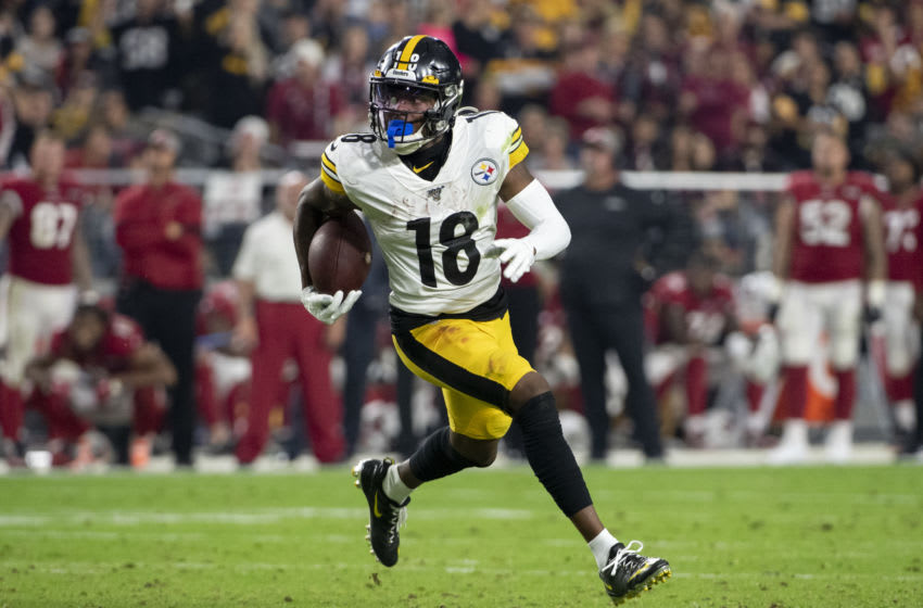 Diontae Johnson Pittsburgh Steelers (Photo by Jennifer Stewart/Getty Images)