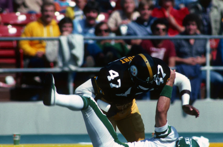 Mel Blount Pittsburgh Steelers (Photo by George Gojkovich/Getty Images)