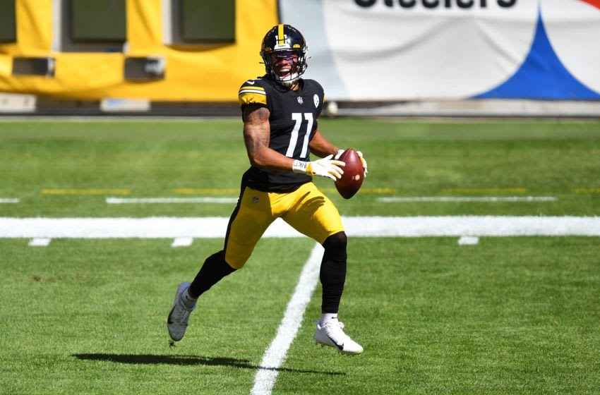 Chase Claypool #11 of the Pittsburgh Steelers (Photo by Joe Sargent/Getty Images)