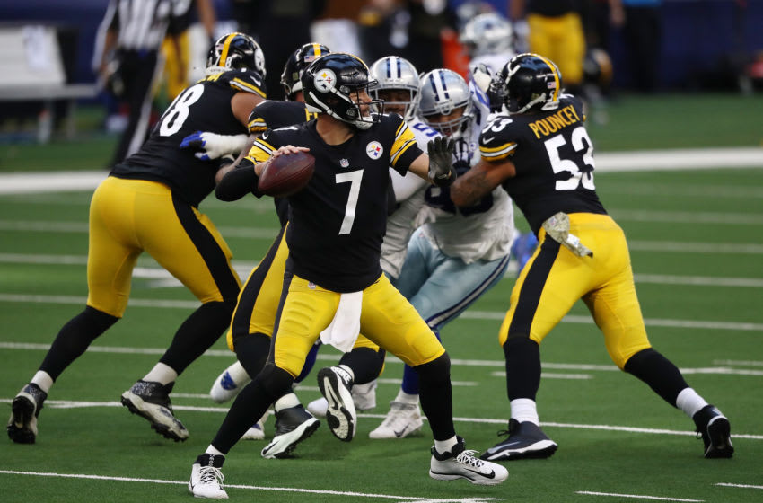 Ben Roethlisberger #7 of the Pittsburgh Steelers (Photo by Ronald Martinez/Getty Images)