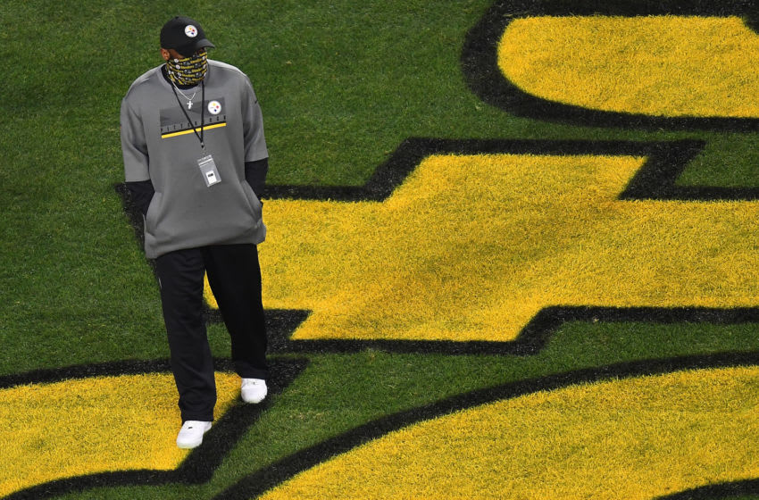Head coach Mike Tomlin of the Pittsburgh Steelers (Photo by Joe Sargent/Getty Images)