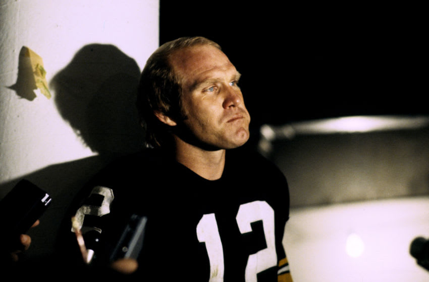 Pittsburgh Steelers QB Terry Bradshaw (Photo by Ross Lewis/Getty Images)