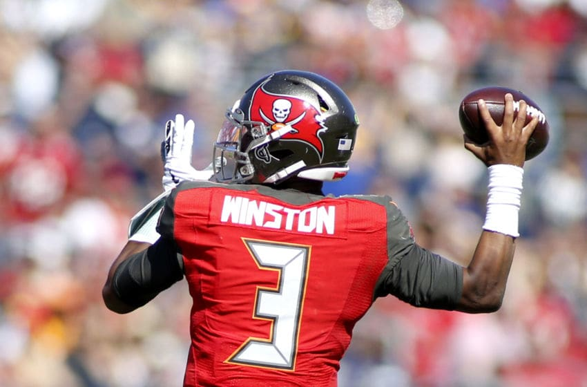 (Photo by Katharine Lotze/Getty Images) Jameis Winston