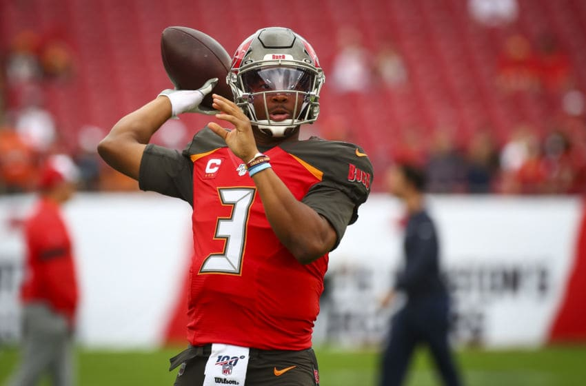 (Photo by Will Vragovic/Getty Images) Jameis Winston