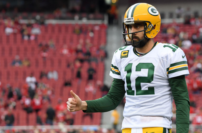 (Photo by Harry How/Getty Images) Aaron Rodgers