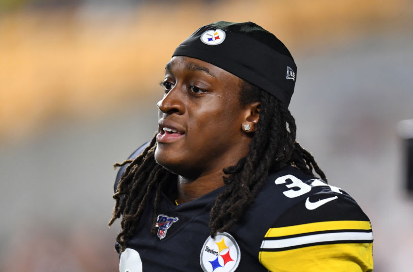 Terrell Edmunds #34 of the Pittsburgh Steelers (Photo by Joe Sargent/Getty Images)