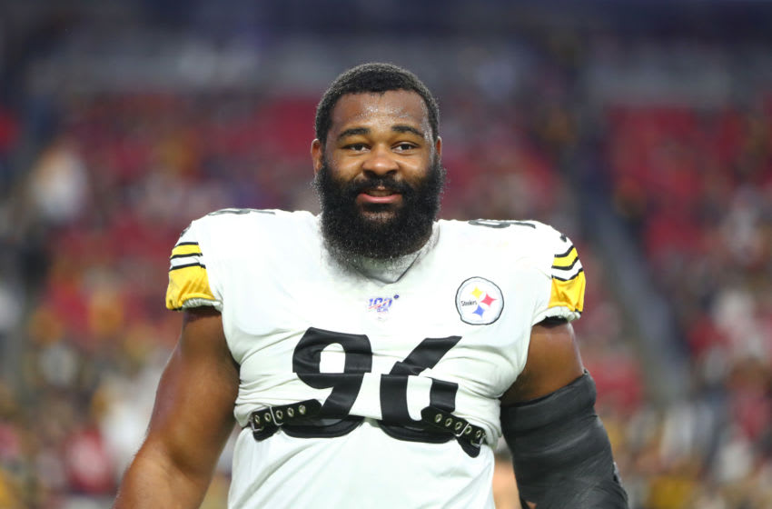 Pittsburgh Steelers defensive end Isaiah Buggs (96) . Mandatory Credit: Mark J. Rebilas-USA TODAY Sports