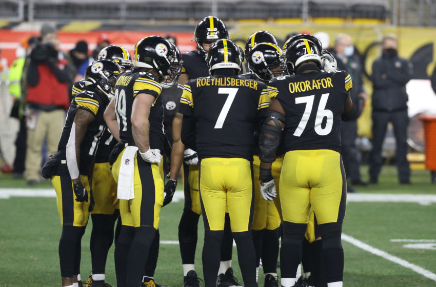 Pittsburgh Steelers quarterback Ben Roethlisberger (7). Mandatory Credit: Charles LeClaire-USA TODAY Sports