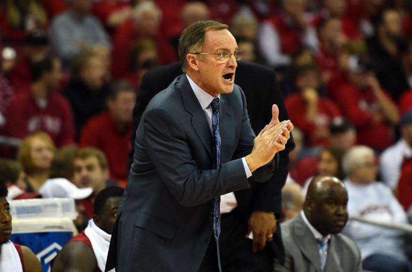 MADISON, WI - DECEMBER 03: Head coach Lon Kruger