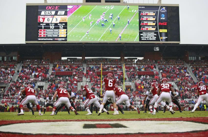 NORMAN, OK - DECEMBER 3: Quarterback Baker Mayfield