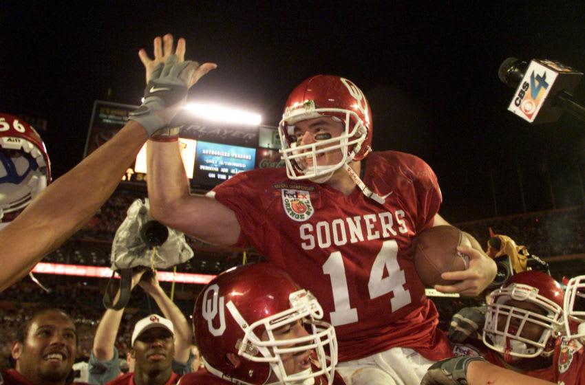 3 Jan 2001: Quarterback Josh Heupel