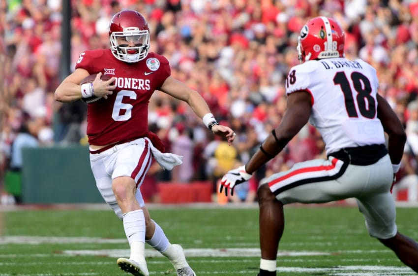 PASADENA, CA - JANUARY 01: Baker Mayfield
