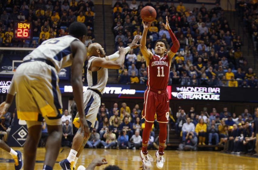 MORGANTOWN, WV - JANUARY 06: Trae Young