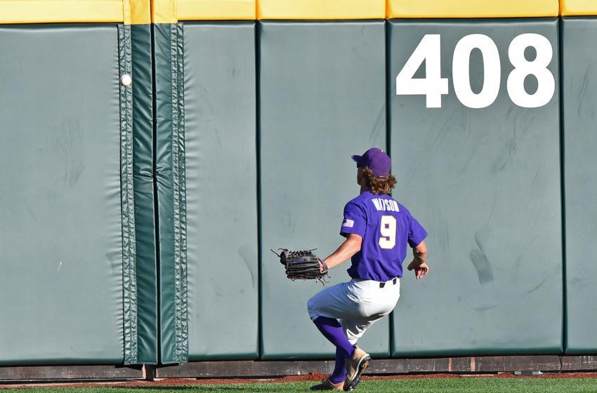 OMAHA, NE - JUNE 26: Center fielder Zach Watson