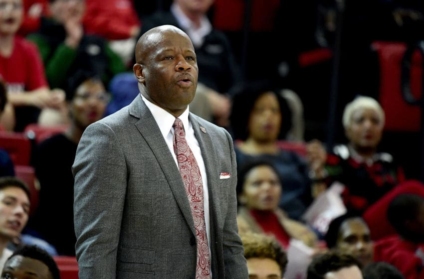 St. John's basketball head coach Mike Anderson. (Photo by Steven Ryan/Getty Images)