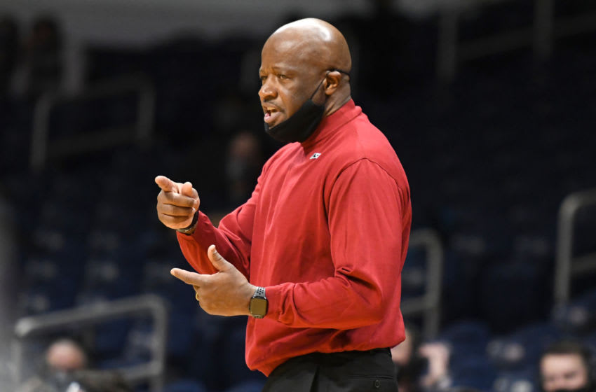 St. John's basketball head coach Mike Anderson (Photo by Mitchell Layton/Getty Images)