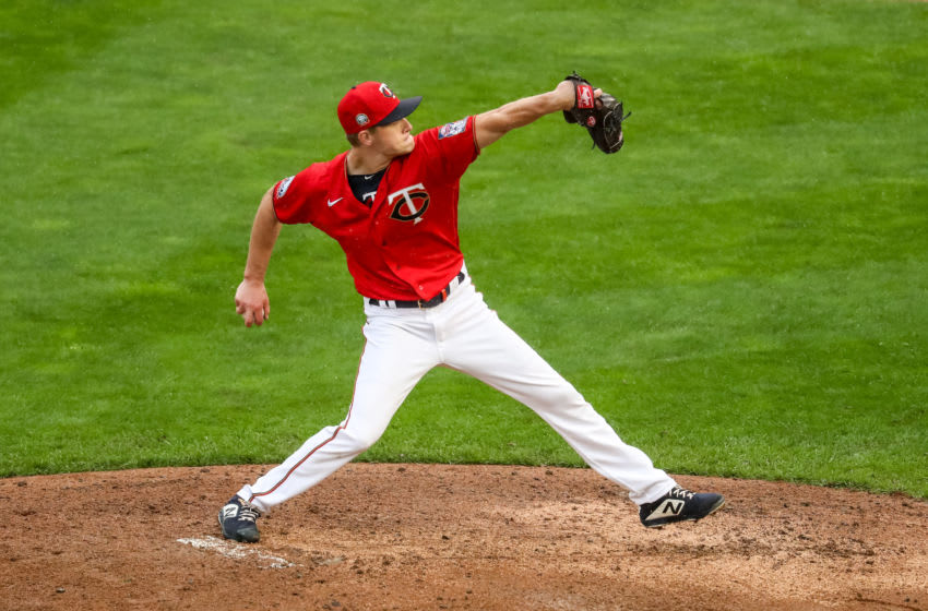 Former St. John's baseball standout Cody Stashak. (Photo by Brace Hemmelgarn/Minnesota Twins/Getty Images)