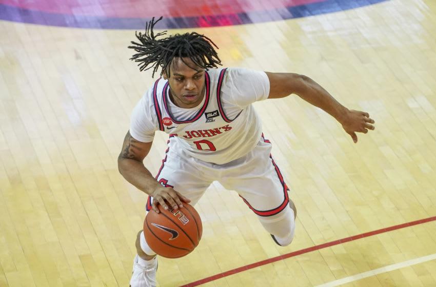St. John's basketball guard Posh Alexander (Photo by Porter Binks/Getty Images)