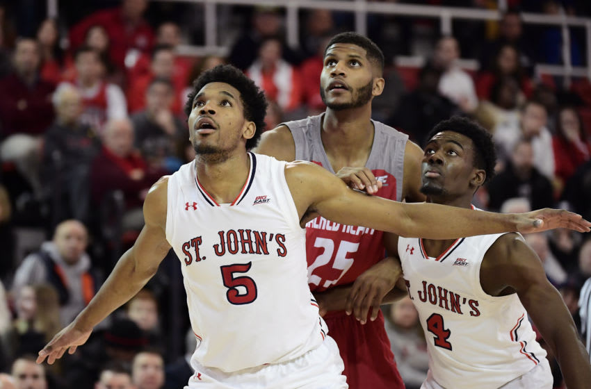 St. John's basketball plays Sacred Heart (Photo by Steven Ryan/Getty Images)