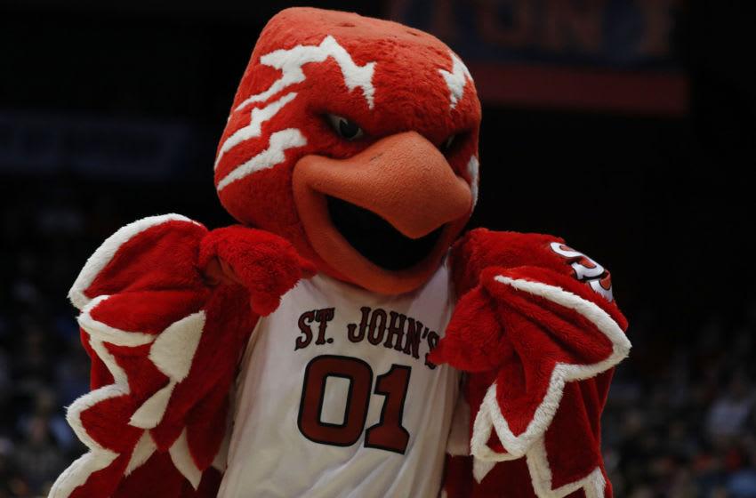 St. John's basketball mascot (Rick Osentoski-USA TODAY Sports)